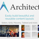 Architect v1.11 with more for Beaver, photographers, advanced users and a Lite version!