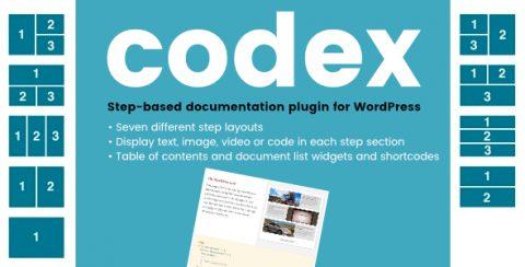 Codex Documentation System plugin for WordPress