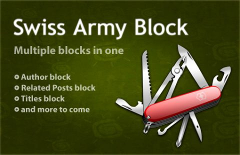 Swiss Army Block